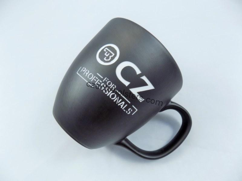 "CZUB Stylish CUP MUG w/ CZ Logo ""For Professionals"""