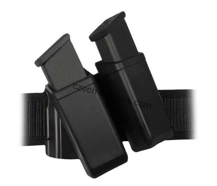 CZ Universal Swivelling Magazine Double Plastic Holder - Belt Clip