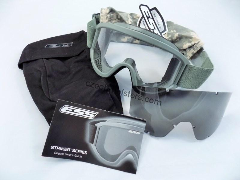 ESS® Land Ops Goggles Foliage Green Military US Army Ballistic Glasses