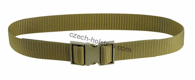 Professional Duty Tactical Belt Stiffened w/ Plastic Buckle 50mm - Army Green