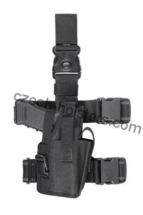 Tactical Leg Holster w/ Modul M3/M6 - Flashlight/Laser + Magazine Pouch