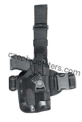 Tactical Leg Holster w/ modul M3/M6 - Flashlight/Laser w/ Rubber Inside Lining