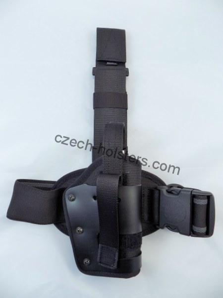 CZ FULL Size Universal Tactical Duty Leg Holster w/ Rubber Inside Lining