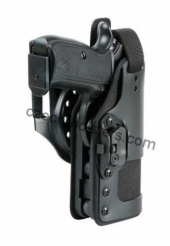 CZ 75 D Compact P-01 P-06 PCR Professional Duty Holster w/ Lock Block