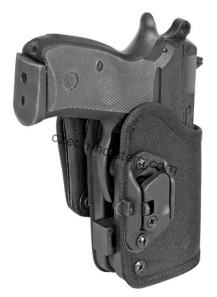 CZ 75 D Compact P-01 P-06 PCR Concealed Carry Holster w/ Lock Block - BELT