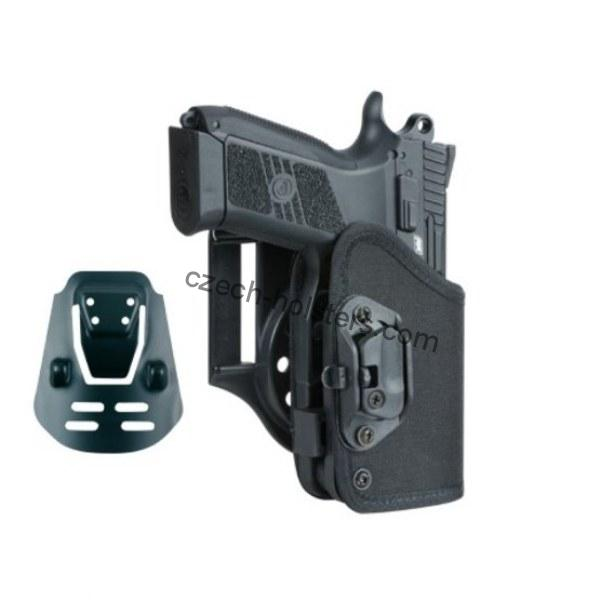 CZ 75 P-07 / DUTY Concealed Carry Holster w/ Lock Block - PADDLE