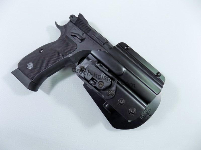 CZ 75 P-09 / DUTY Plastic Duty Holster w/ Lock Block - PADDLE
