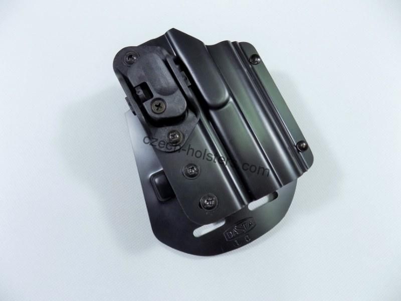 CZ 75 P-07 / DUTY Plastic Duty Holster w/ Lock Block - PADDLE