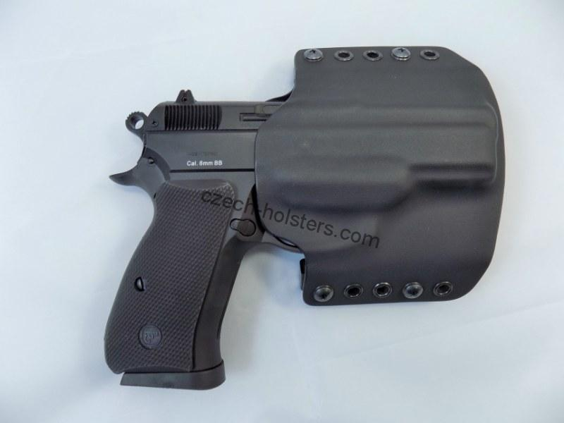 CZ 75 D Compact P-01 P-06 PCR CZUB® OWB Kydex Holster