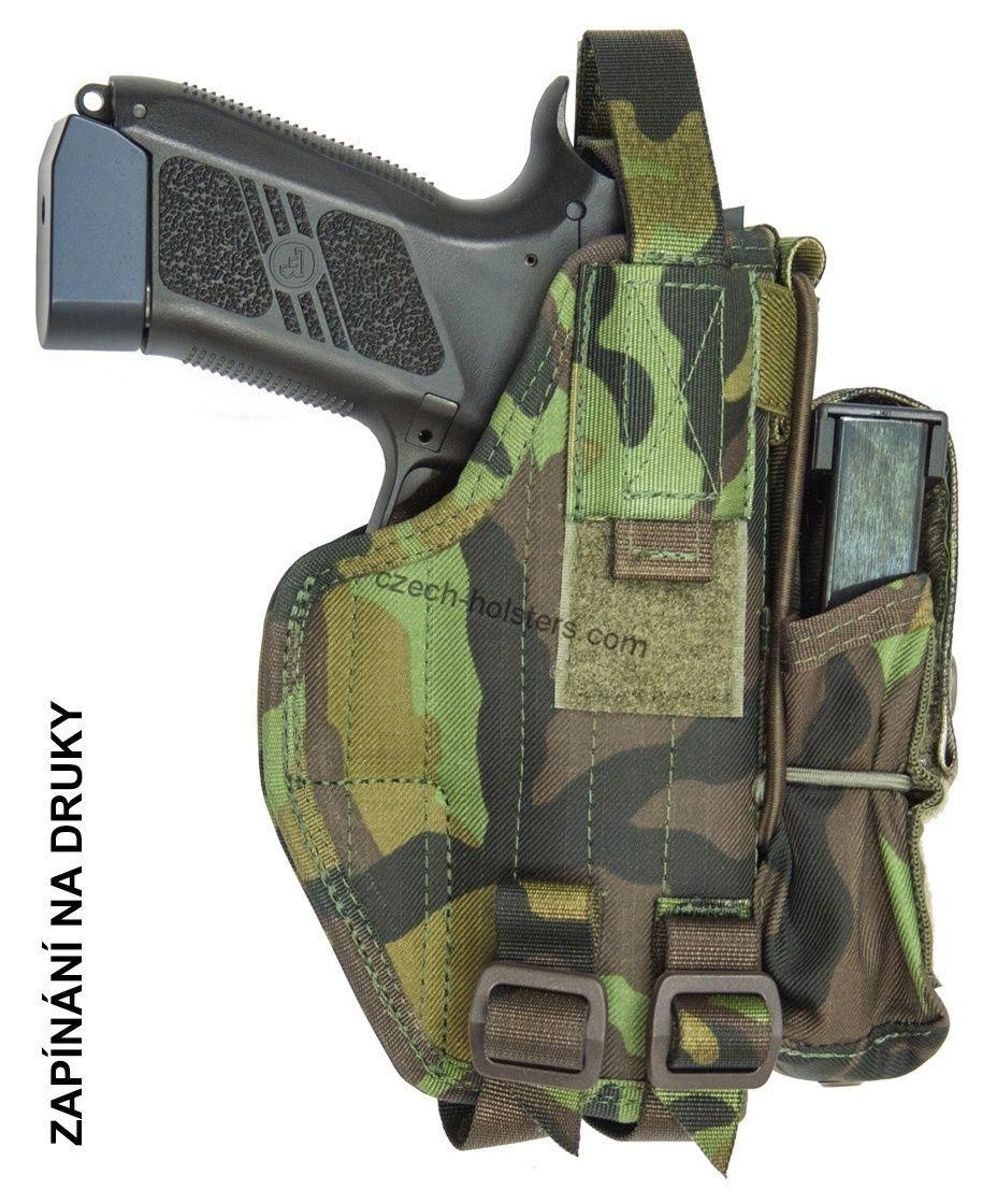 CZ 75 P-09 / DUTY CZ Army Military Professional Holster - M95 Camo