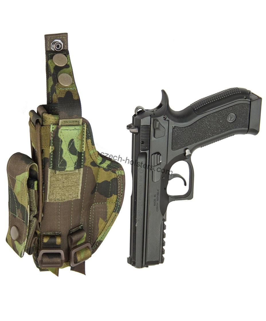 CZ 75 SP-01 PHANTOM CZ Army Military Professional Holster - M95 Camo