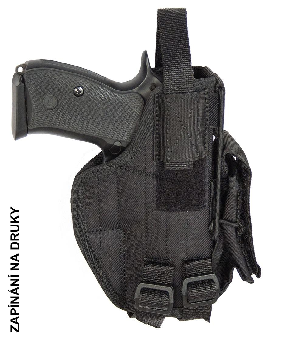 CZ 75 D Compact P-01 P-06 PCR CZ Army Military Professional Holster - Black