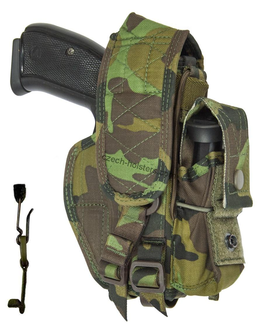 CZ 75 D Compact P-01 P-06 PCR CZ Army Military Professional Holster - M95 Camo