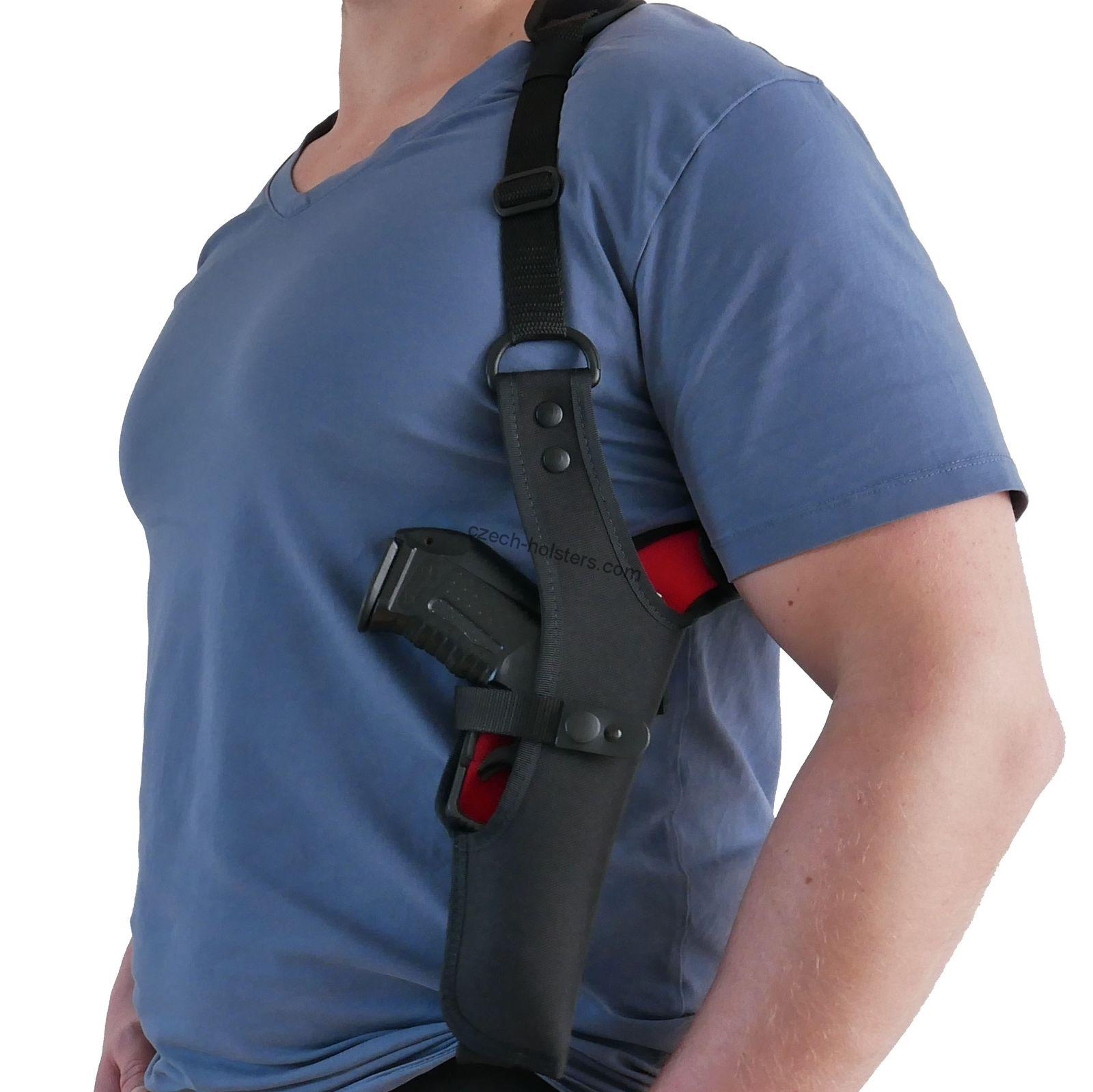 CZ Universal Size Shoulder Premium Vertically Holster - One Side