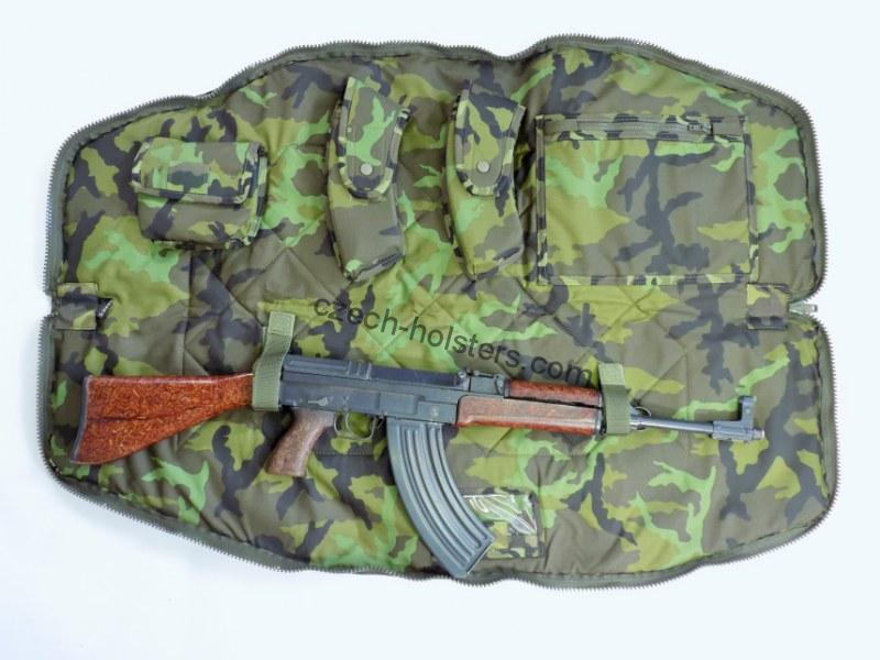 SA58,VZ58 Czech Army Professional Transport Bag - M95 Camo - Fixed Stock Version
