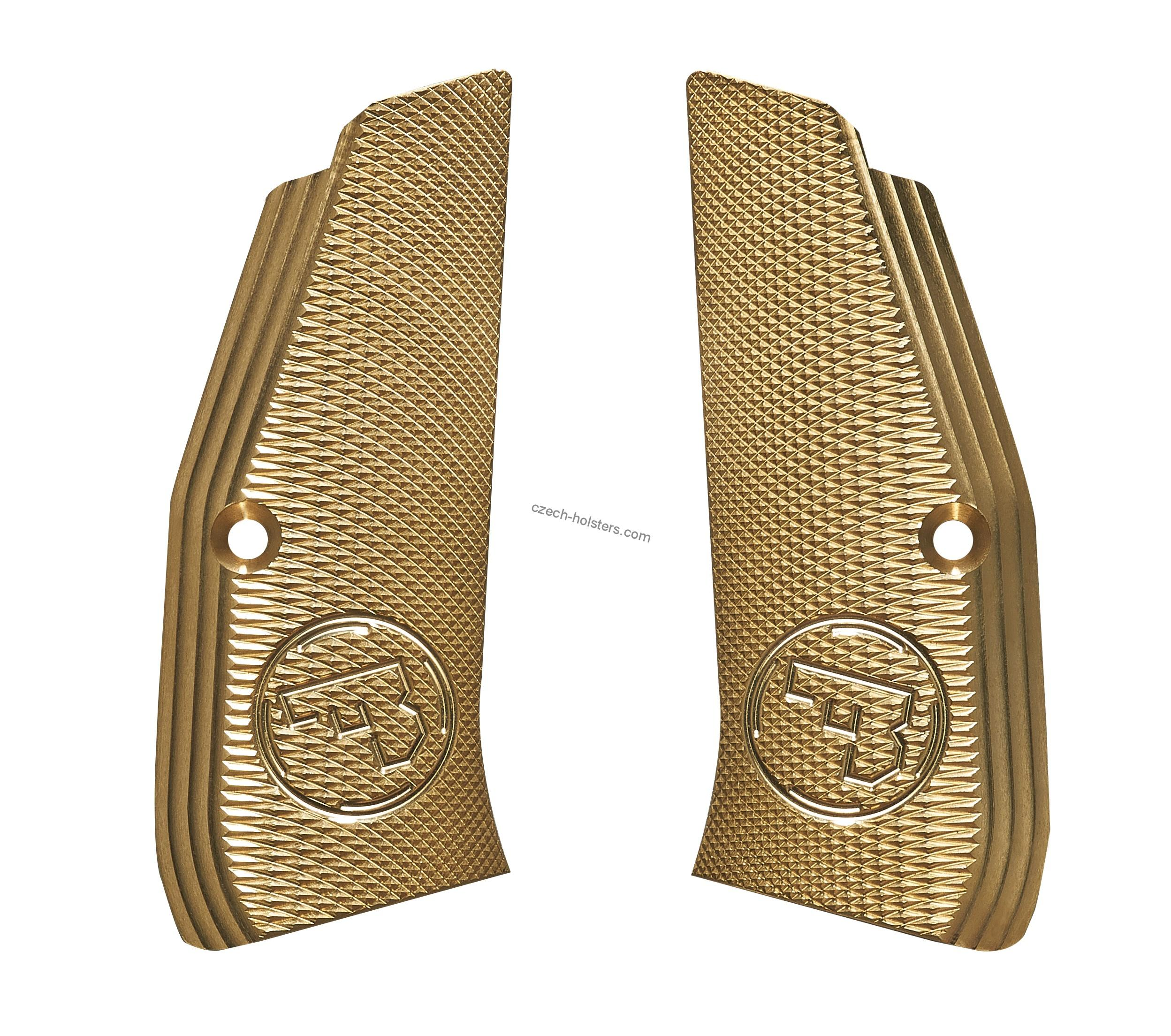 CZ 75 Brass Premium Grips without Funnel - Long - CZUB®