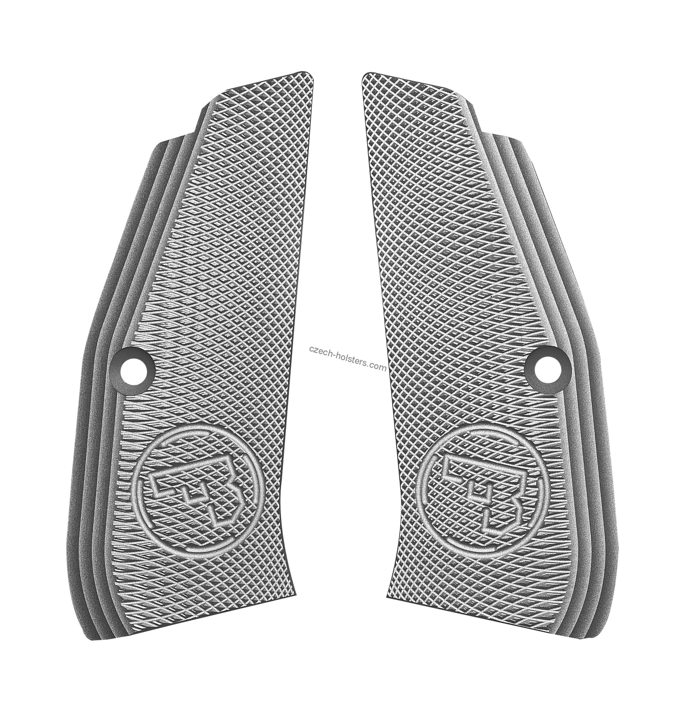 CZ 75 Grooved Grips without Funnel - Long - Colour Options - CZUB®