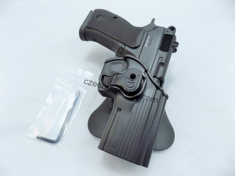 Strike Systems® CZ P-09/DUTY Polymer Roto Paddle Holster