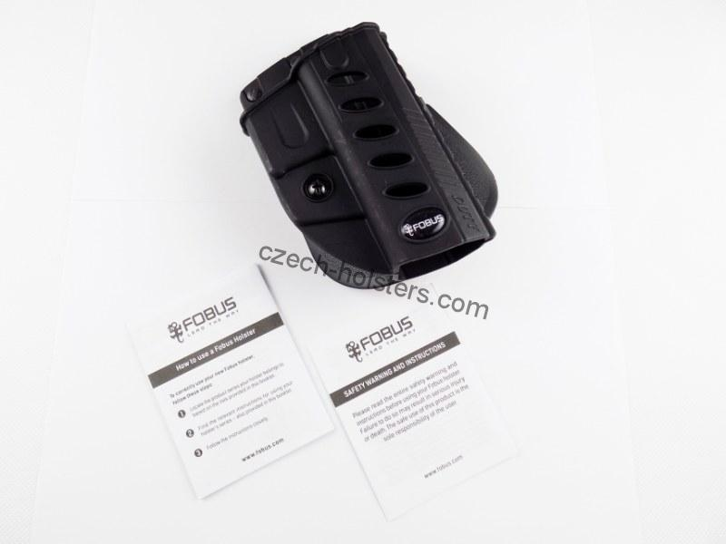 FOBUS® P-09 P-07 / Duty Polymer High Tech Paddle Holster
