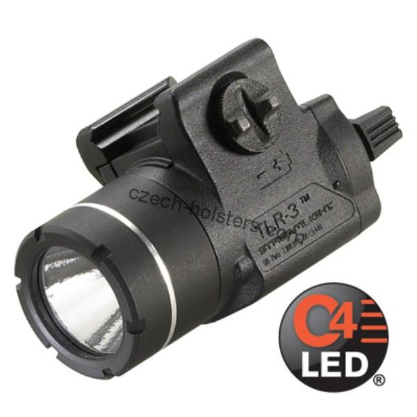 STREAMLIGHT® Rail-Mounted Tactical Weapon Flashlight TLR-3 - 170 lm