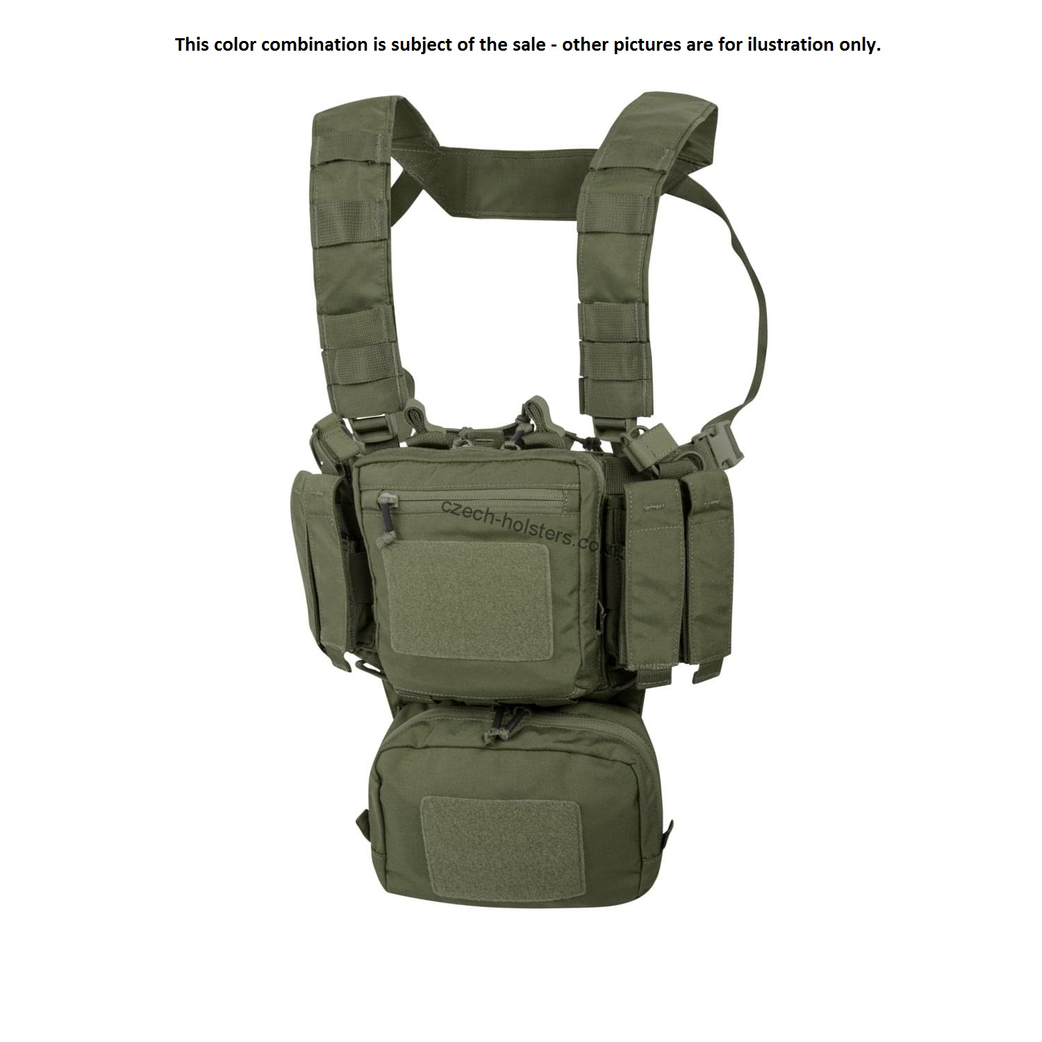 HELIKON TEX® Shooting Range Training Mini Chest RIG ( TMR )® Olive Green