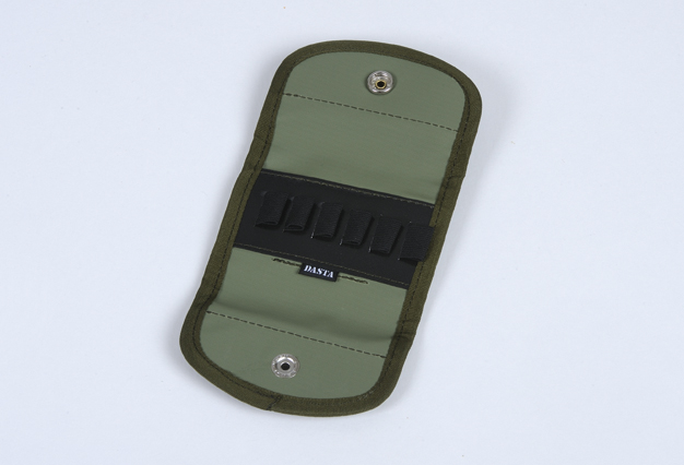Hunting Rifle Cartridge Pouch - Green