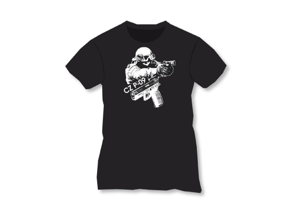 CZUB CZ P-09 T-Shirt - Special Police Member