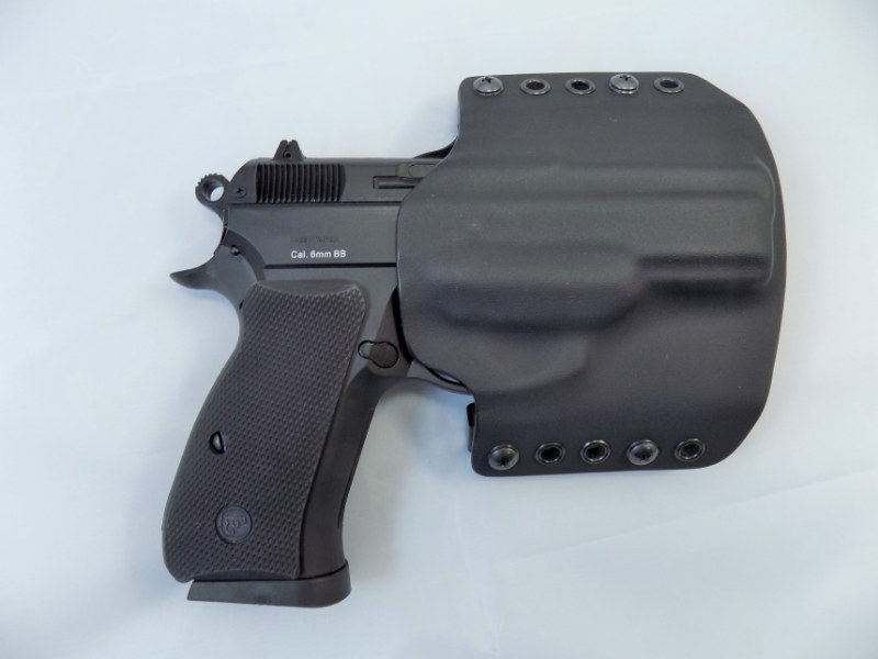 CZ 75 P-07 / DUTY CZUB® OWB Kydex Holster