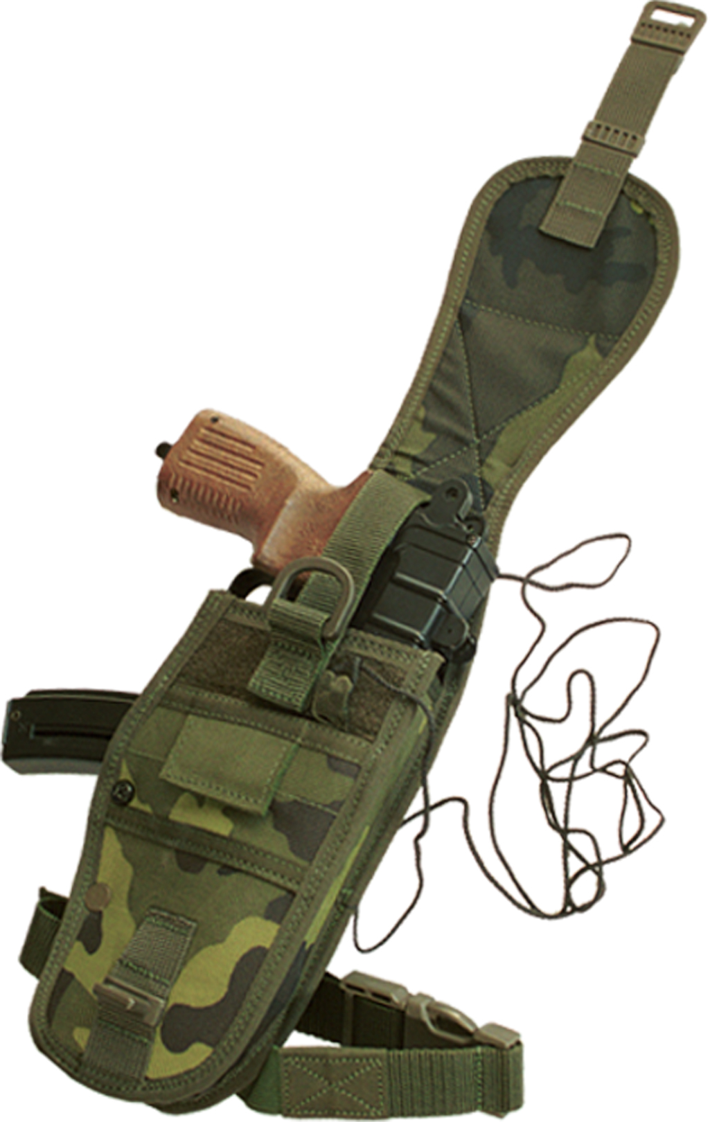 SA-61 VZ.61 Scorpion Professional Tactical Army Holster - CZ Camo