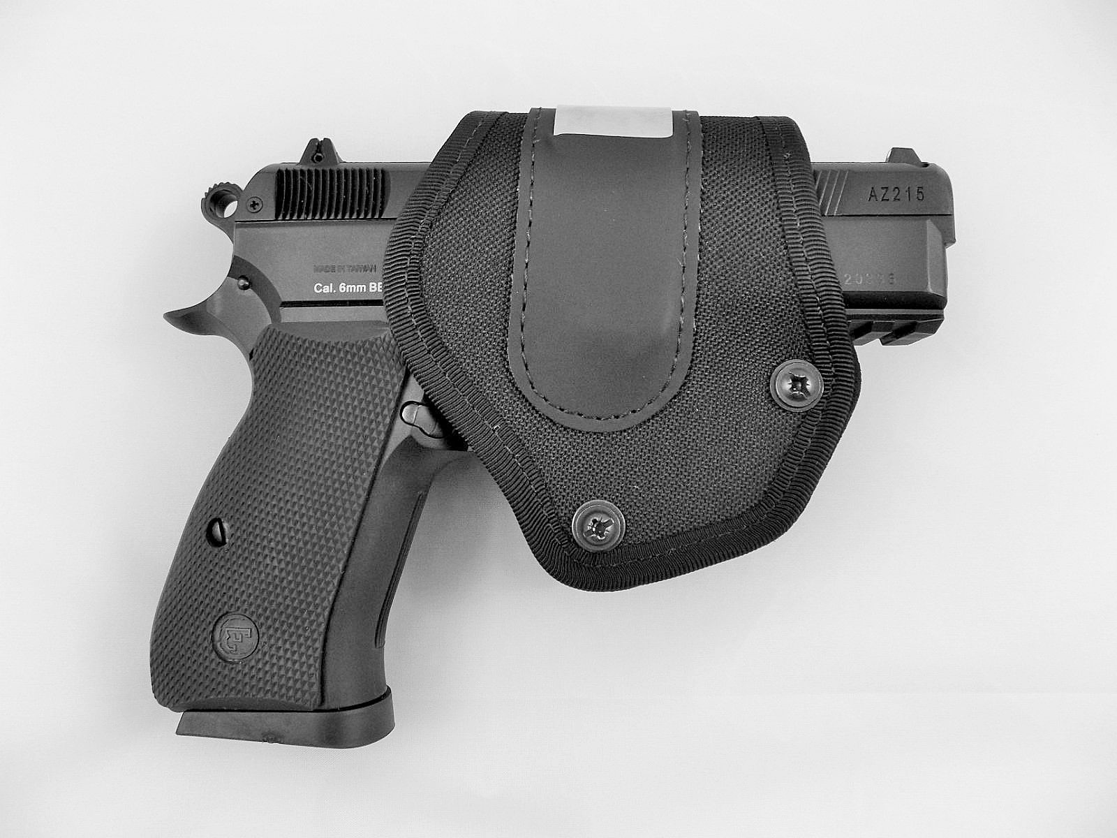 CZ Universal Size Compact Moulded Holster w/ Self Locking Spring