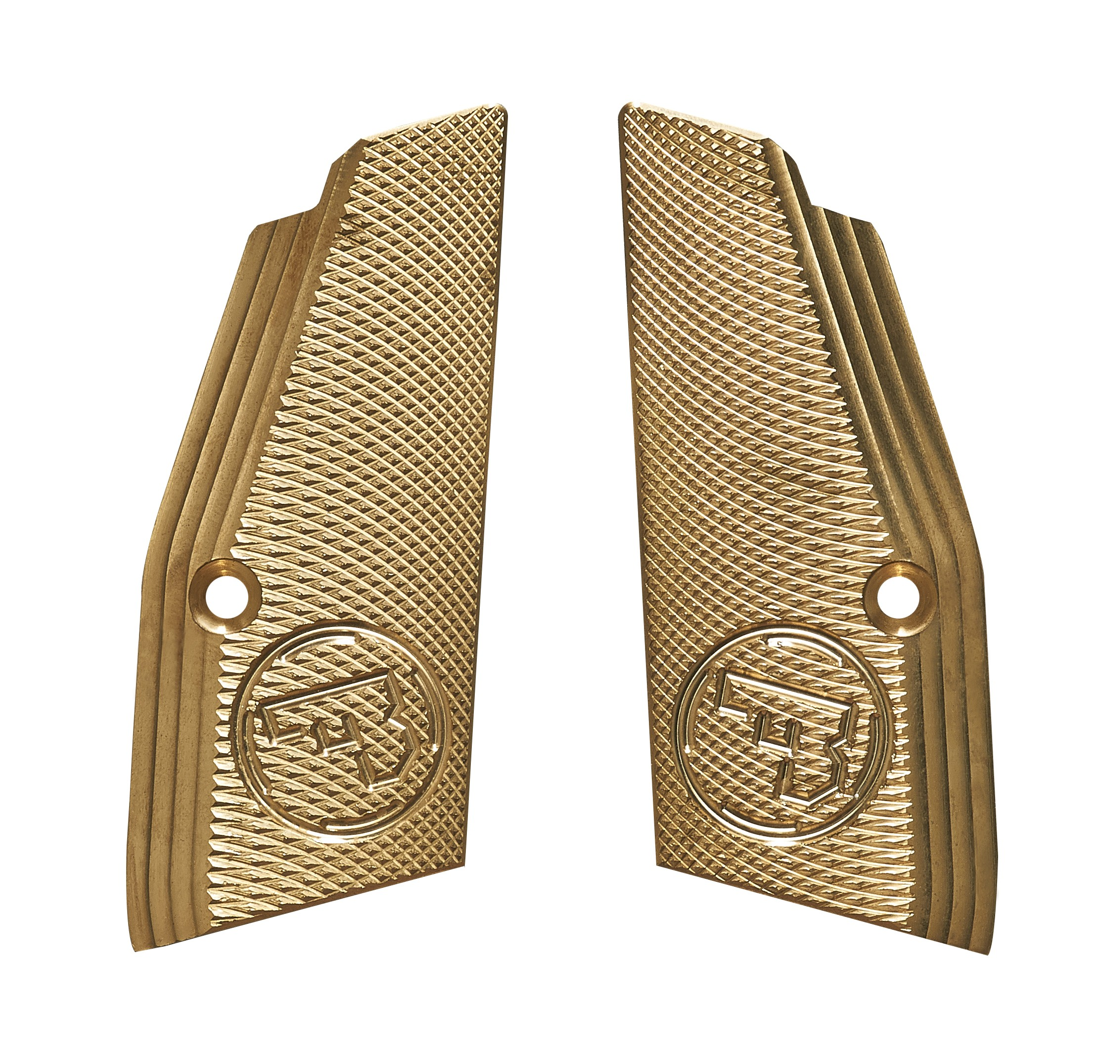 CZ 75 Brass Premium Grips with Funnel - Short - CZUB®