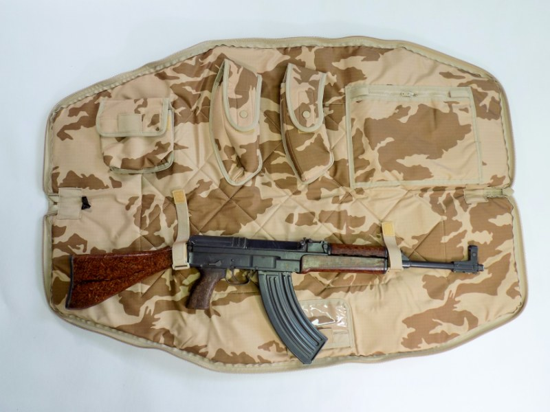 SA58,VZ58 Czech Army Professional Transport Bag - M95 Sand Camo - Fixed Stock