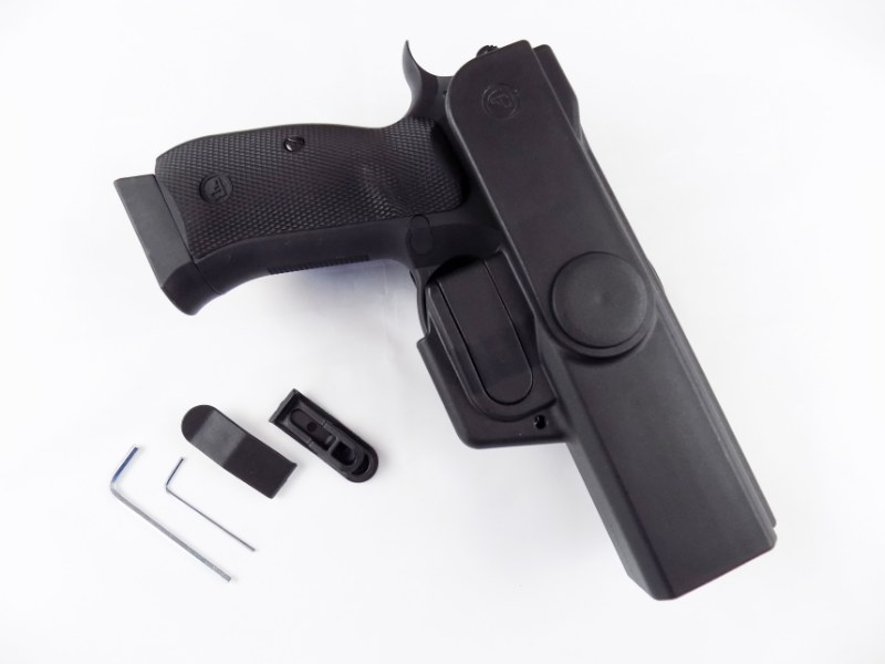 Professional Duty CZ P-09/DUTY Premium V2 Multivariable Holster - BELT