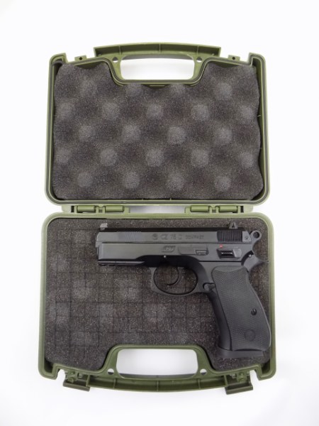 CZ Compact Size Plastic Case - OD Green