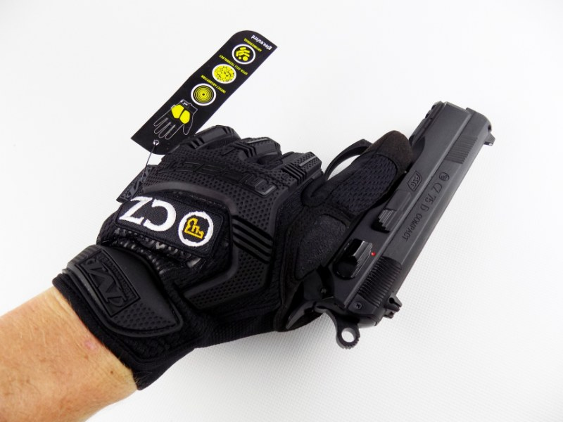 CZUB® Tactical Military Shooters Gloves - Mechanix Wear M-PACT® CZ Original