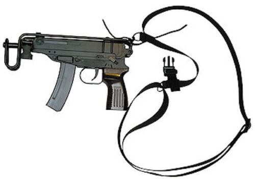 SA-61 VZ.61 Scorpion Tactical 1 & 2 Point Adjustable Sling