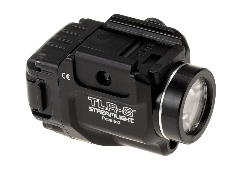 STREAMLIGHT® Rail-Mounted Tactical Weapon Flashlight / Laser TLR-8 - 500lm