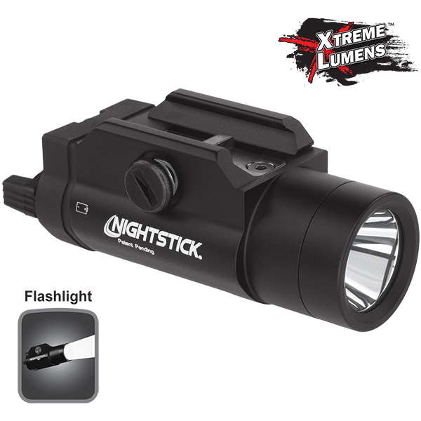 NIGHTSTICK® Rail-Mounted Tactical Weapon Flashlight TWM-850XL