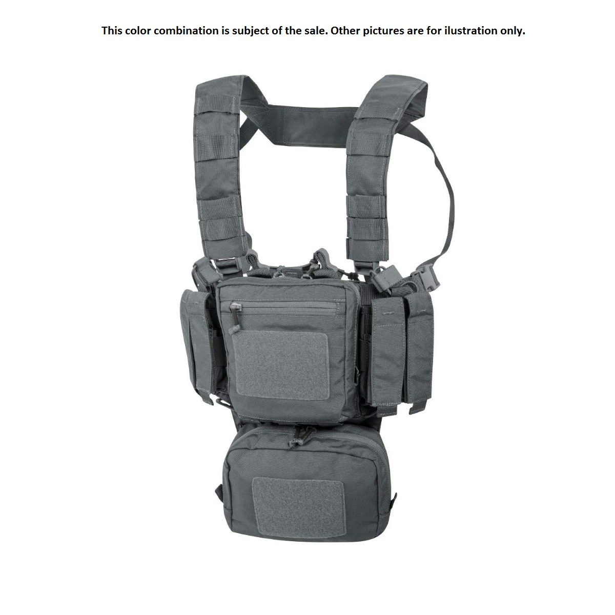 HELIKON TEX® Shooting Range Training Mini Chest RIG ( TMR )® Shadow Grey