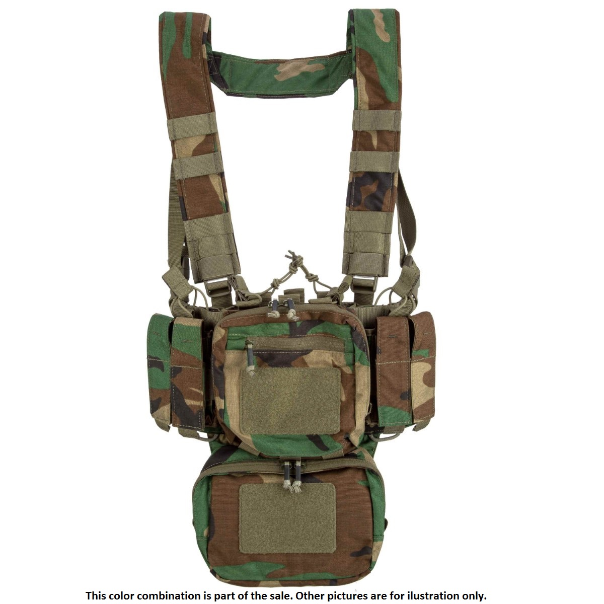 HELIKON TEX® Shooting Range Training Mini Chest RIG ( TMR )® US Woodland