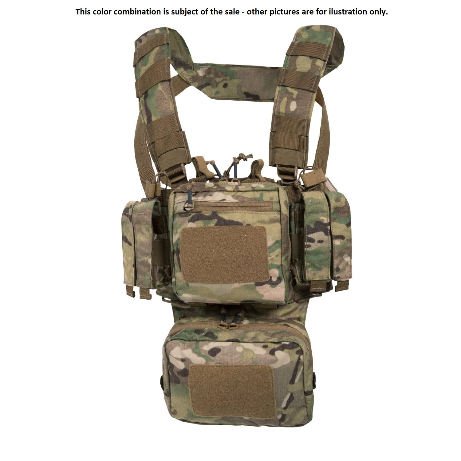 HELIKON TEX® Shooting Range Training Mini Chest RIG ( TMR )® US Multicam
