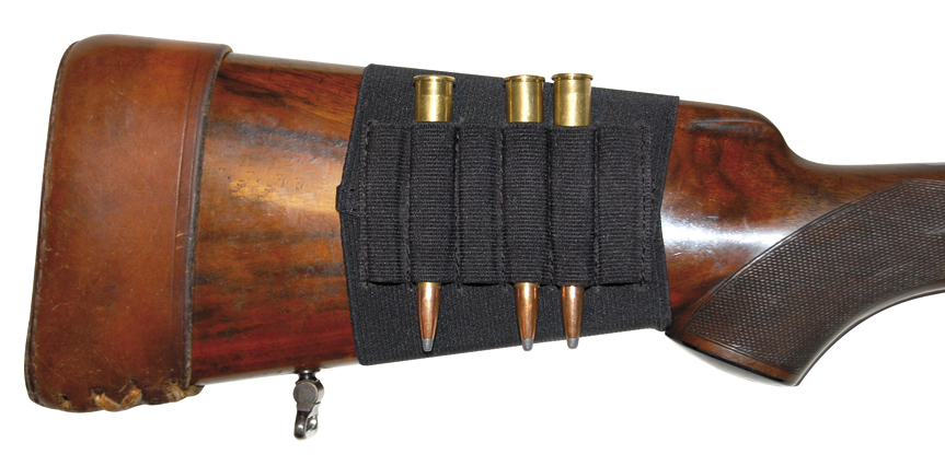 Rifle Stock Cartridge Holder - Black